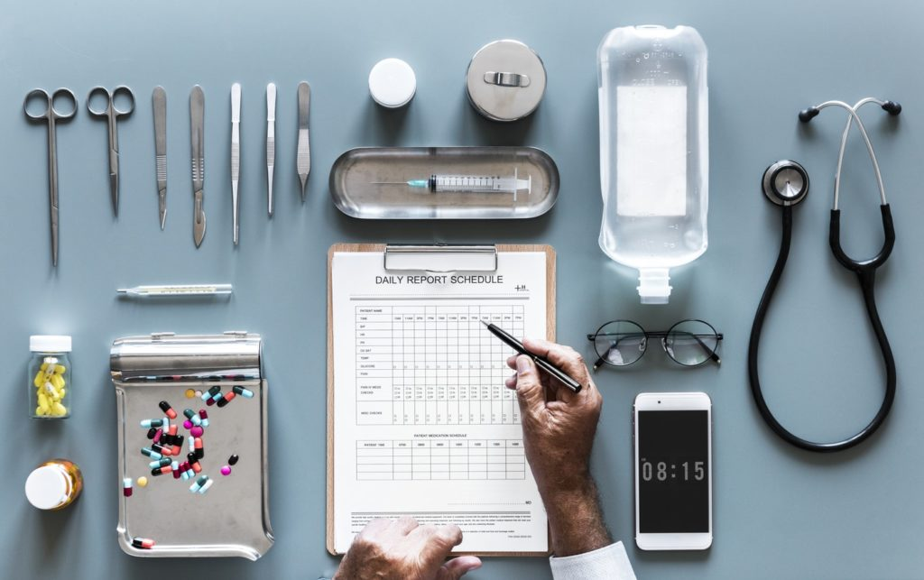 Medical Equipment Management with Digital Checklists pervidi